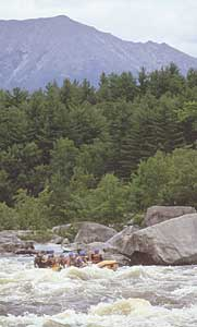 Go Penobscot River Rafting on the Penobscot River in Maine with Moxie Outdoor Adventures