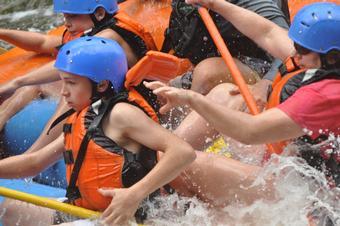 Deerfield River Zoar Gap / Fife Brook Raft