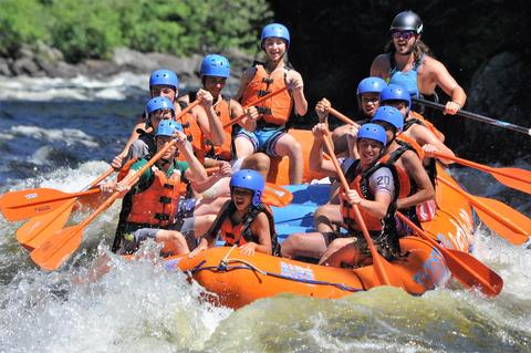 kennebec river full day rafting whitewater rafting kennebec river the forks maine rafting